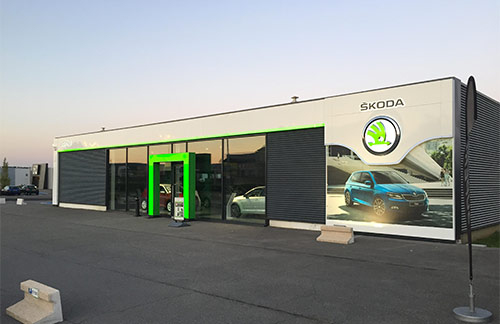 garages skoda belgique. Black Bedroom Furniture Sets. Home Design Ideas