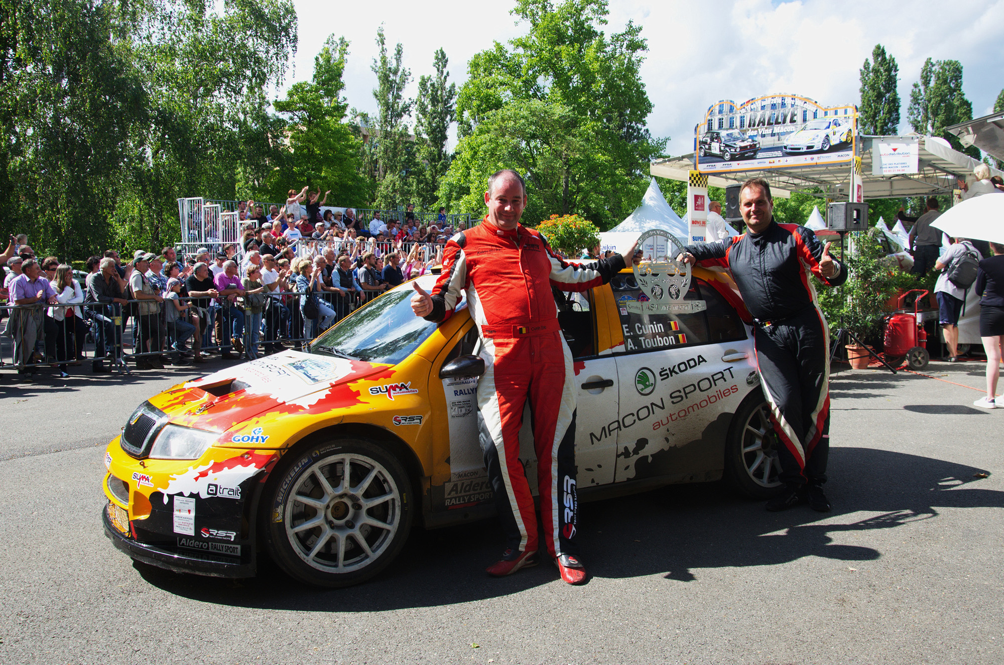 Rallye m con skoda fabia wrc rsr garage llorens for Garage seat belgique