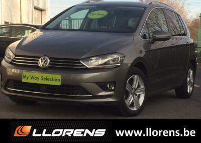 VW Golf Sportsvan Highline 1.6 TDI 110 cv 6v