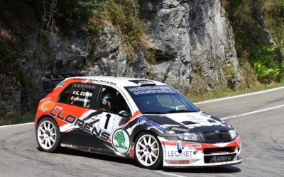 Victoire de la Skoda Fabia WRC LLorens