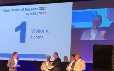 LLorens sacré fleet dealer of the year 2017