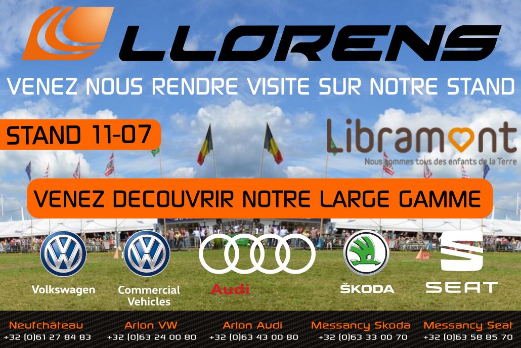 Foire de Libramont | Garage LLorens