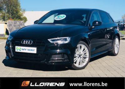 Audi A3 Sportback S-line 2.0 TFSI 190cv Quattro S-tronic