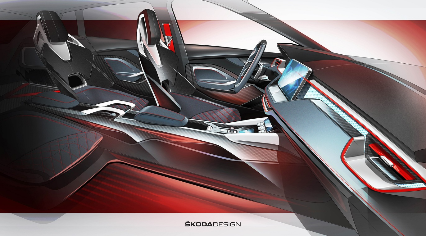 Skoda vision RS 7
