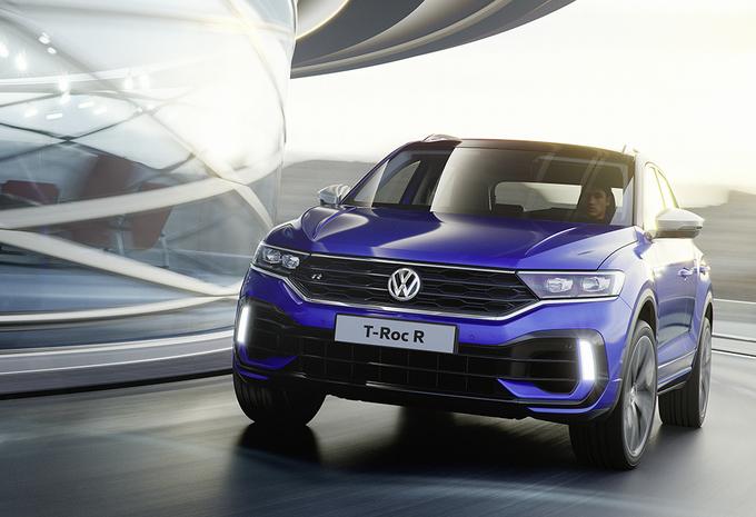 Le Volkswagen T-Roc s'offre une version « R » au salon de Genève