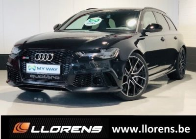 Audi RS6 SW 4.0 V8 TFSI Quattro Performance Tiptron. Break