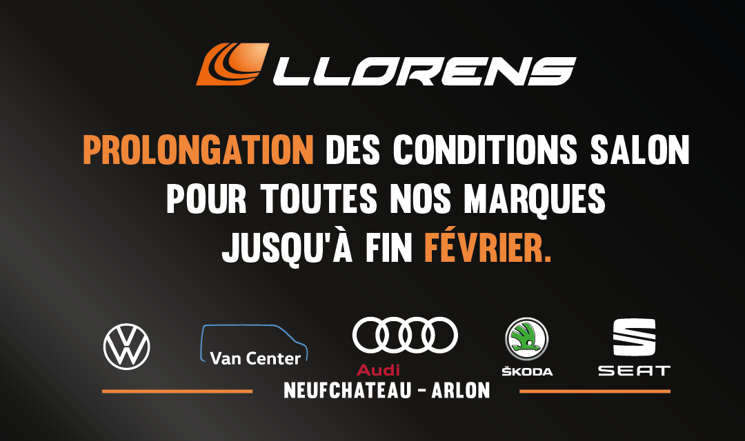 Prolongation des conditions salon !