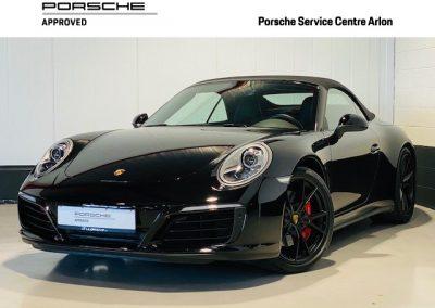 PORSCHE 911 991 CARRERA 4S CABRIOLET